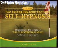 CD Cover of You Can Play Better Golf Using Self Hypnosis