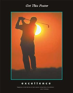 Golf Excellence Poster Image
