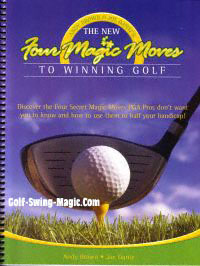Picture of the 4 Magic Moves to Winning Golf: Hard Copy
