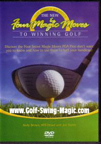 New Four Magic Moves to Winning Golf DVD Cover