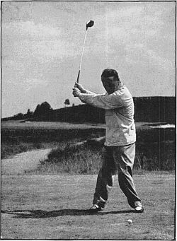 Nearing The Top Of The Golf Swing
